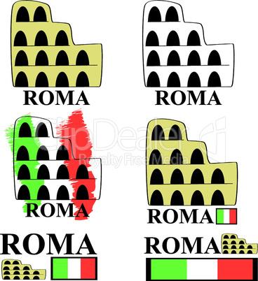 Rom Logos