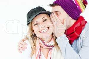 man and female friend