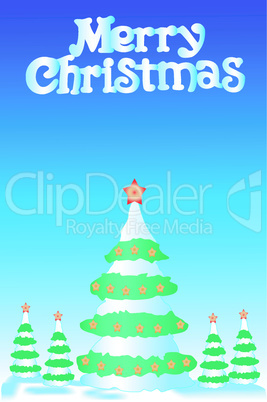 Christmas fur-tree