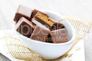 Dominosteine / little baked gingerbread
