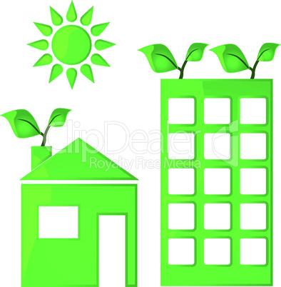 Grüne Gebäude