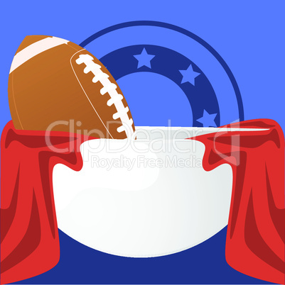Superbowl Karikatur