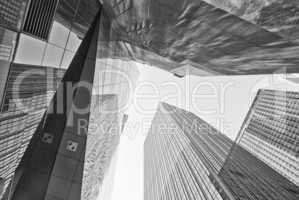 Giant Skyscrapers, New York City