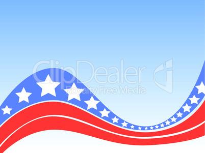 USA-Hintergrund