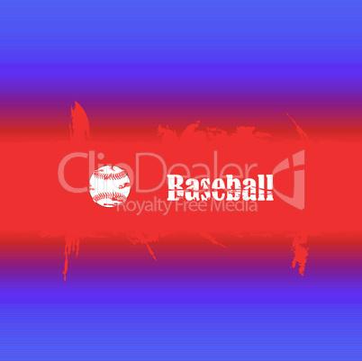 Hintergrund Baseball