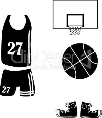 Basketballausrüstung