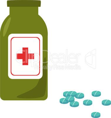 Tablettenflasche