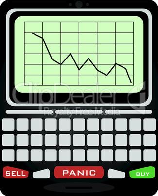 Blackberry für Börsenmakler