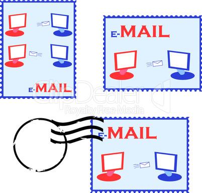 E-Mail Briefmarken