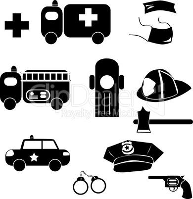 Icons Notruf