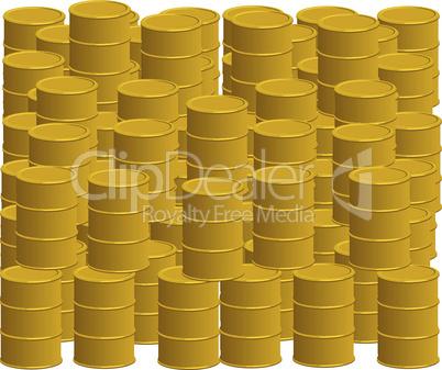 Goldene Ölfässer