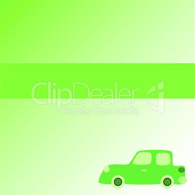 Hintergrund mit Auto