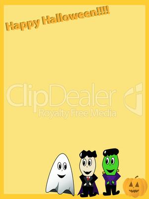 Halloween Briefpapier