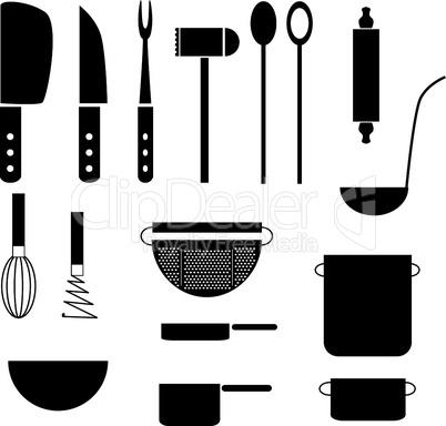Küchen-Symbole