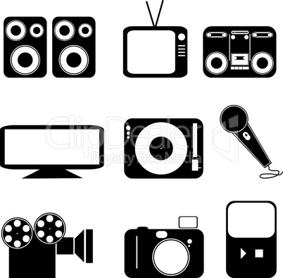 Icons Medien