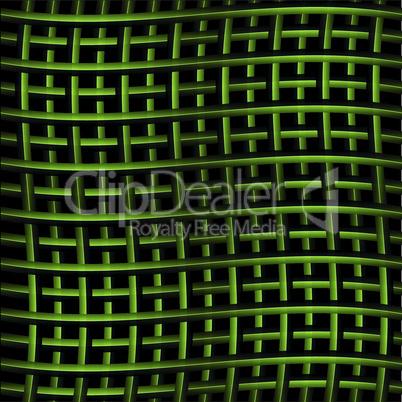 Grünes Gitter