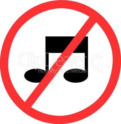 Musik verboten
