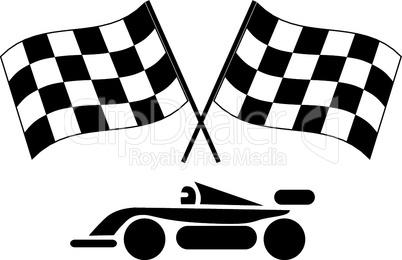 Icons Autorennen
