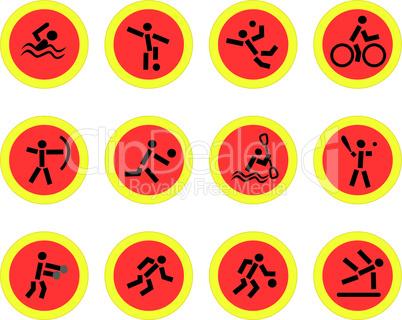 Sport Piktogramme