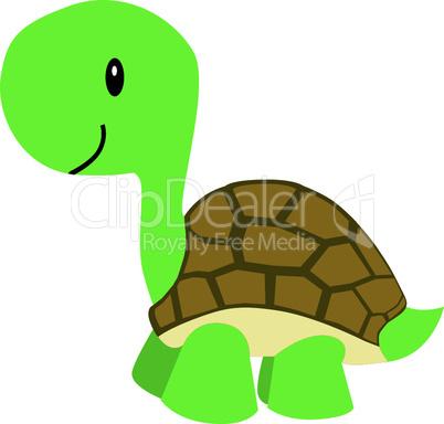 Niedliche Schildkröte