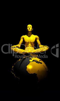 3D International Golden World Meditation