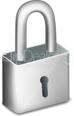 illustration of pad lock