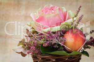Herbstgesteck - Autumnal Flower Arrangement