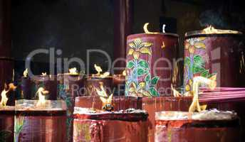 Sacred candles