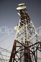 Antenna radio station