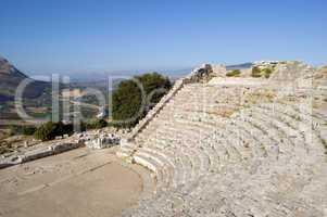 The Theatre of Segesta in Sicily