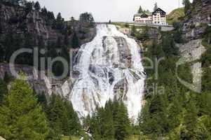 The Toce Waterfall