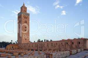 Marrakesh Koutoubia Minaret and Mosque