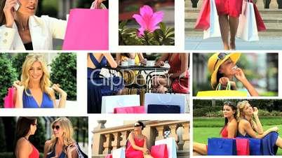 Luxury Female Lifestyle Montage