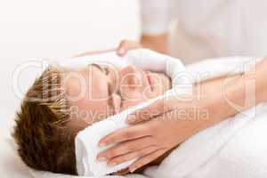 Male cosmetics - luxury spa treatment