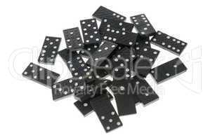 Dominoes close up