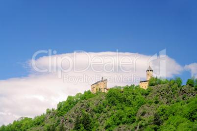 Sterzing Burg Sprechenstein - Sterzing castle Sprechenstein 01