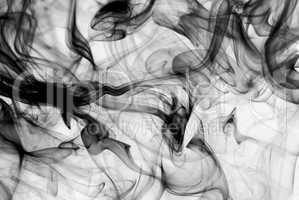 Abstract fume background