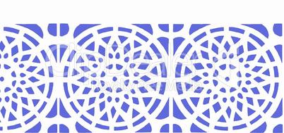 Blau Weiß zur Dekoration für alles mögliche