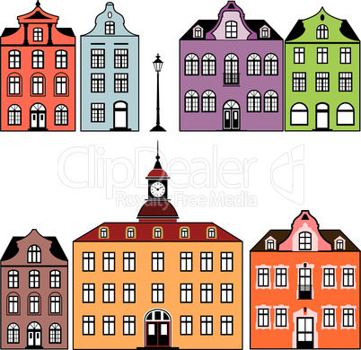 Old town houses