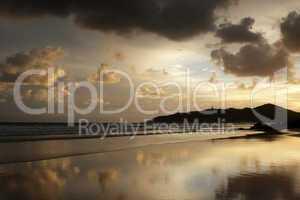 Strand von Byron Bay, Australien