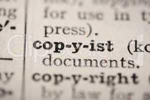 Word copyist