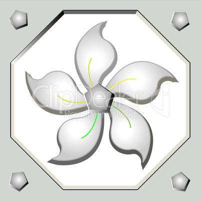 iron flower.