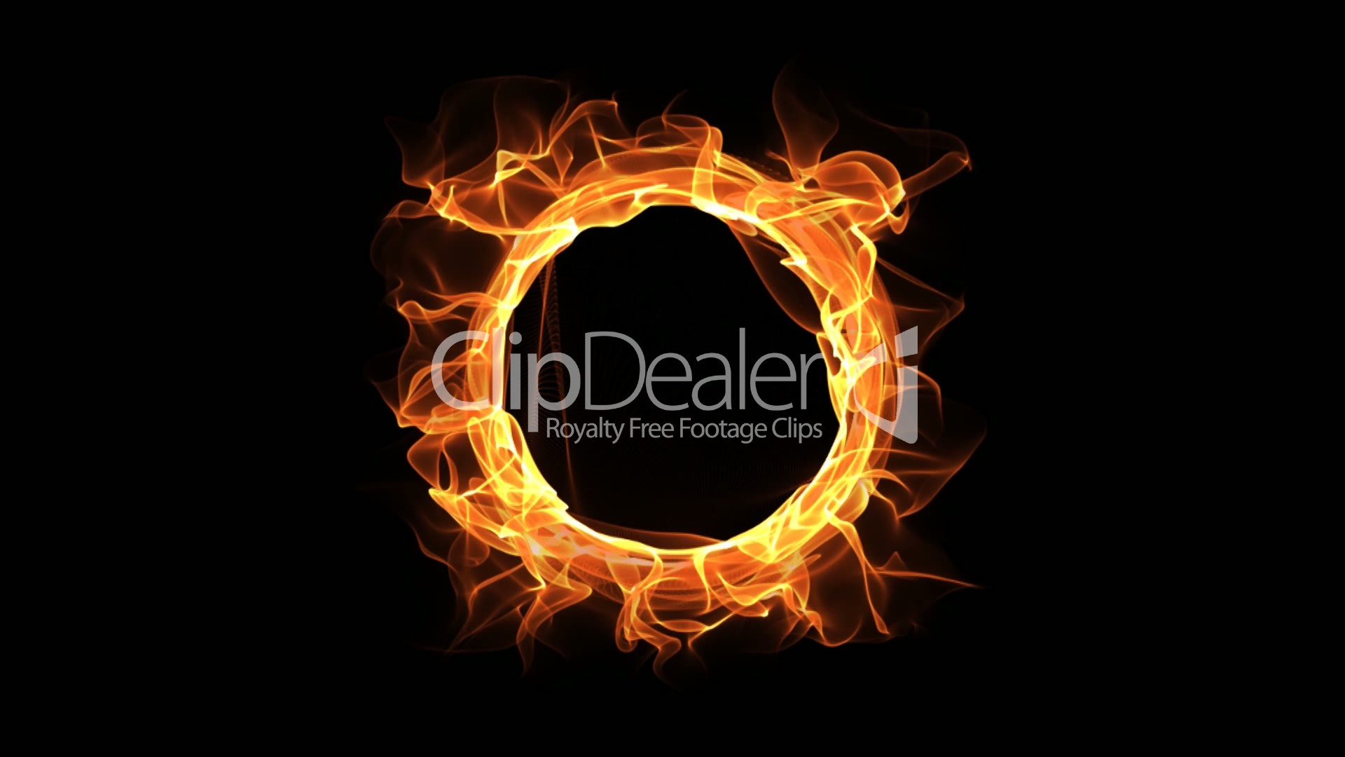 Fire Ring Royalty Free Video And Stock Footage