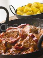Chicken Tikka Masala with Bombay Aloo