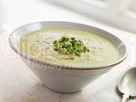 Chilled Avocado Chilli and Cumin Soup