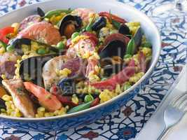 Bowl of Paella