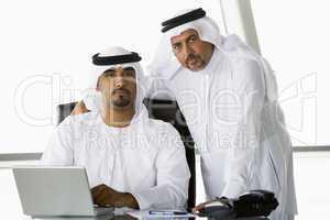 Oriental businessmen