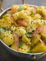 Gobi Aloo - Spiced Cauliflower and Potato