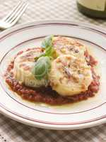 Gnocchi Romana with Tomato Sauce