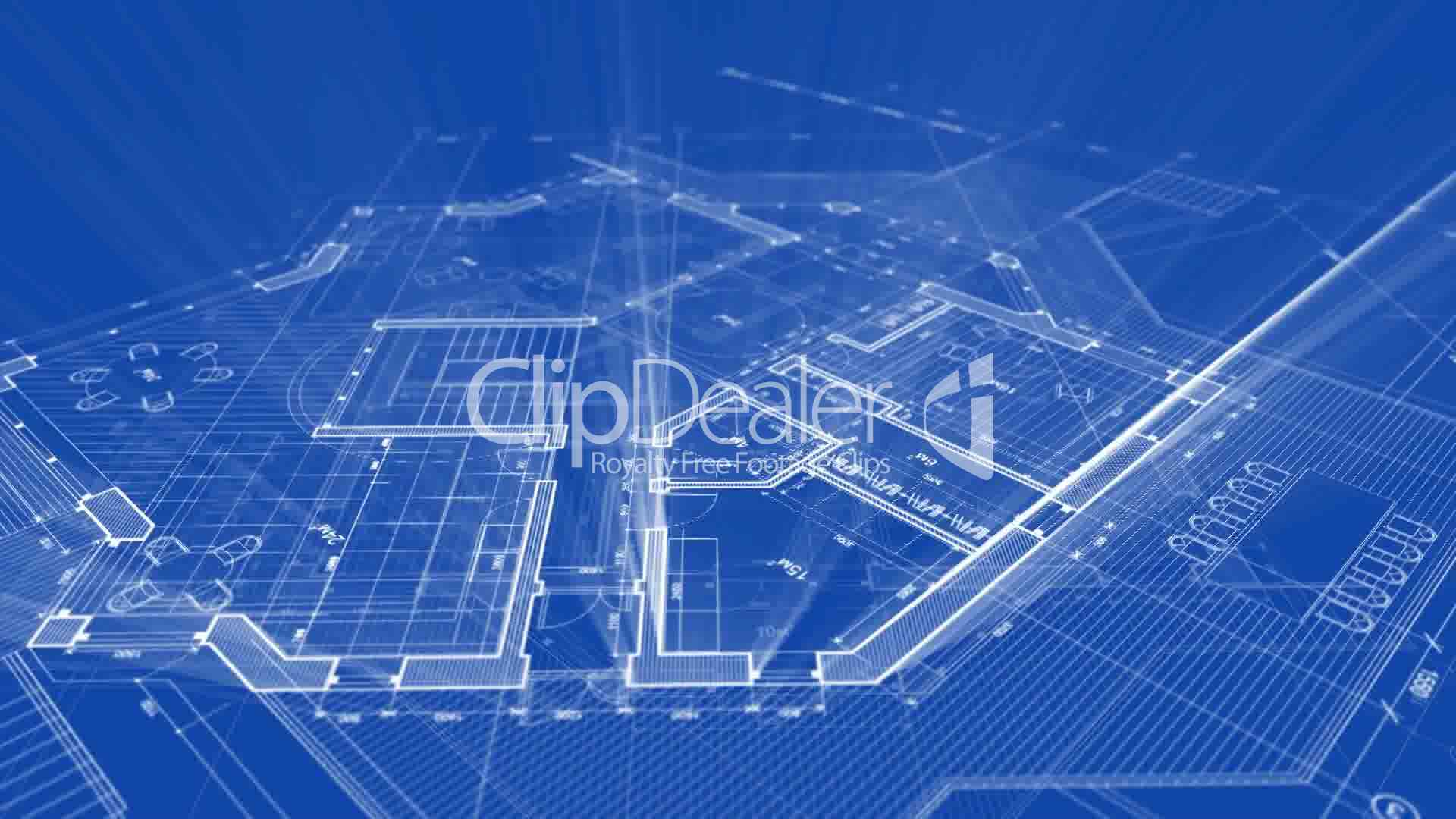 Architecture blueprint royalty free video and stock footage for Blueprint architects